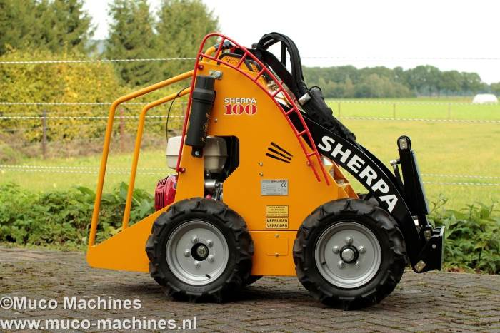 Sherpa 100 smal Muco Machines