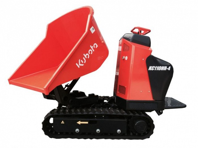 Kubota dumpers bij Muco Machines